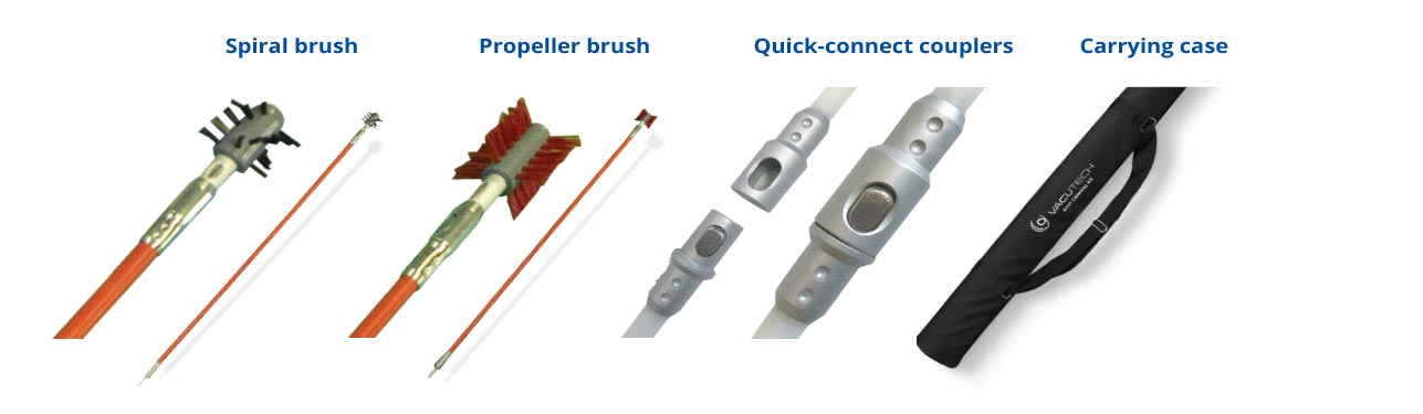 Arch Arm Cleaning Kit - Brush Heads