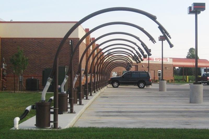 Underground Vacuum Delivery Arch